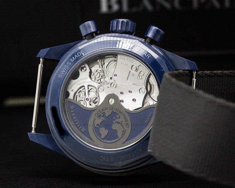 Blancpain 5200-0310-B52A Fifty Fathoms Bathyscaphe Chronograph Ocean Commitment II