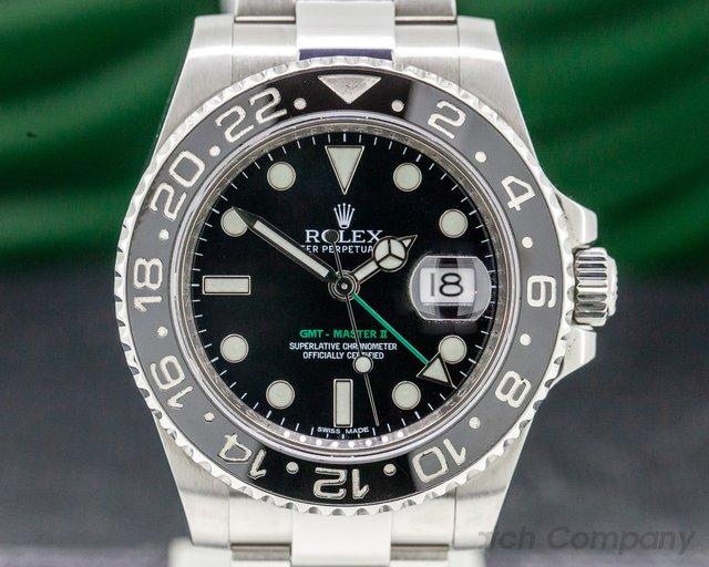 Rolex 116710LN GMT Master II Ceramic SS / SS