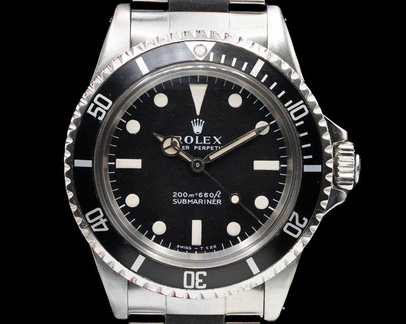 "Rolex 5513 Vintage Submariner 5513 ""Meters First"" c. 1969"