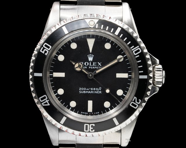 "Rolex 5513 Vintage Submariner 5513 ""Meters First"" c. 1969"