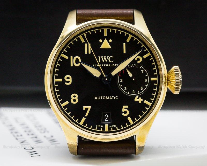 IWC IW501005 Big Pilot BRONZE Black Dial UNWORN