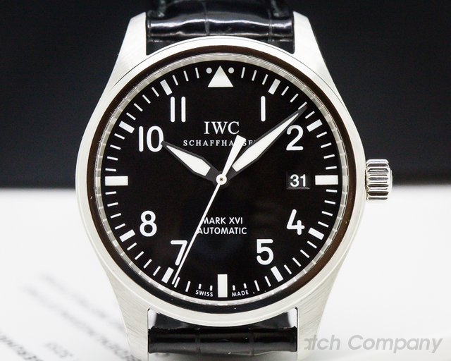 IWC IW325501 Mark XVI Black Dial SS