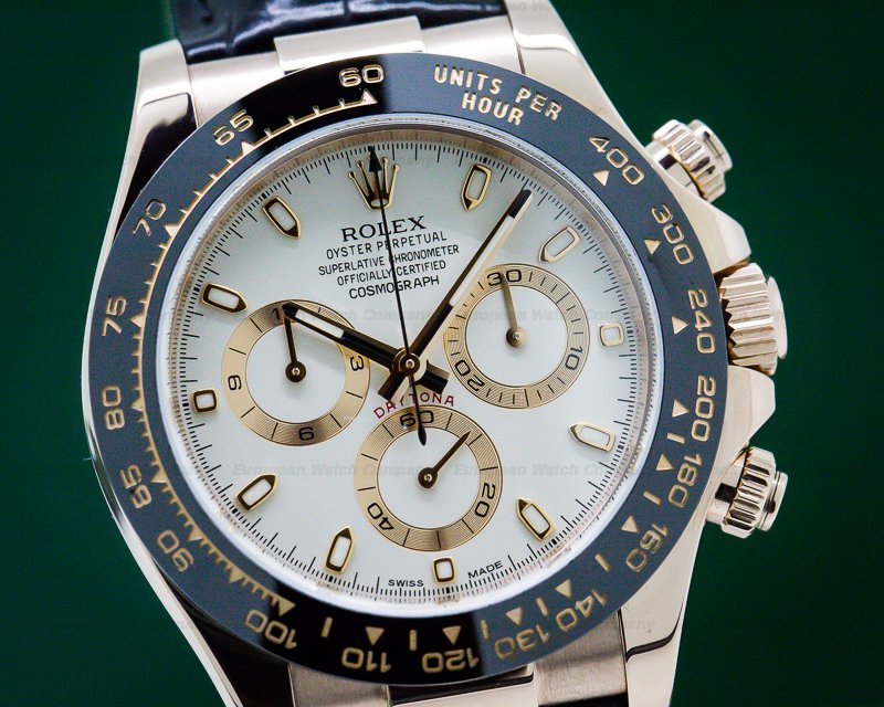 Rolex 116515LN Cosmograph Daytona 18K Rose Gold / Ivory Dial