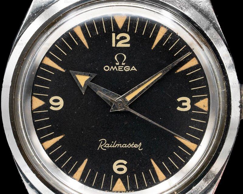 Omega 2914-4 SC Vintage 2914 Railmaster / 7912 VERY NICE