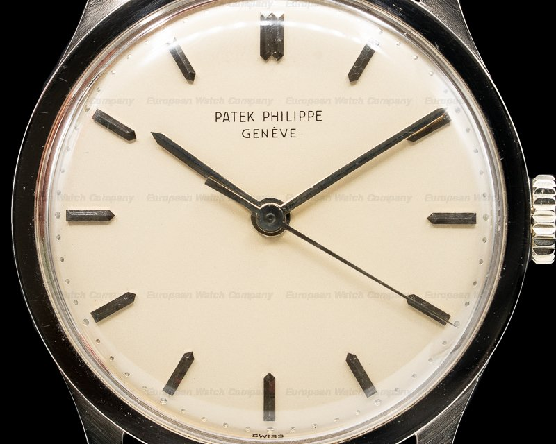 Patek Philippe 570 G Calatrava Manual Wind 18K White Gold OUTSTANDING