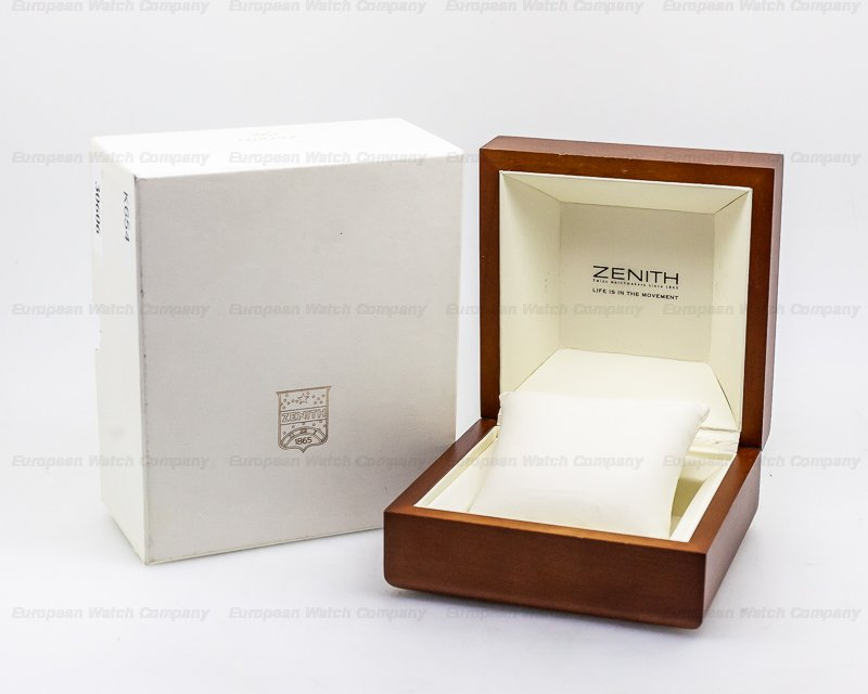 Zenith 02.0470.405/25 Rainbow Flyback SS BLack Dial