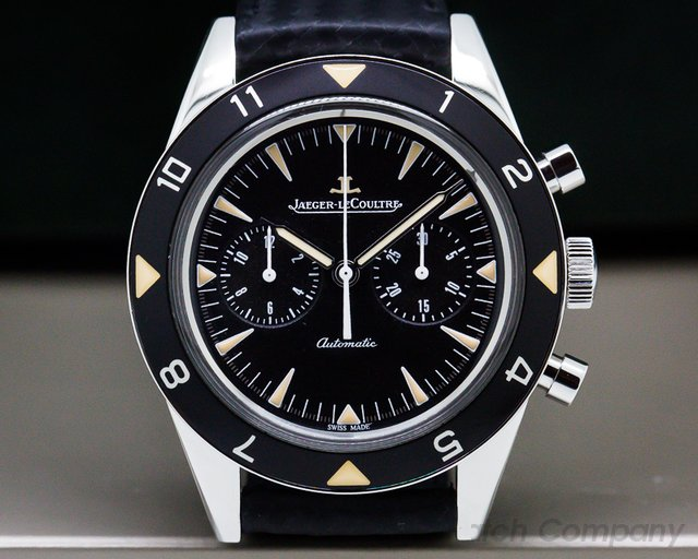 Jaeger LeCoultre Q207857J Tribute to Deep Sea Vintage Chronograph