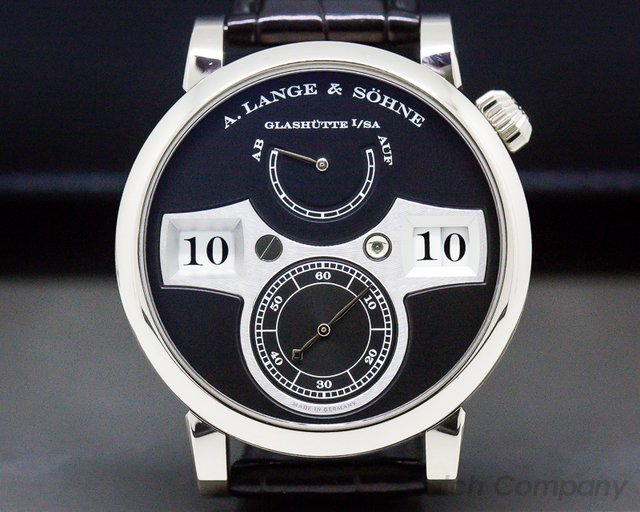 A. Lange and Sohne 140.029 Zeitwerk 18K White Gold