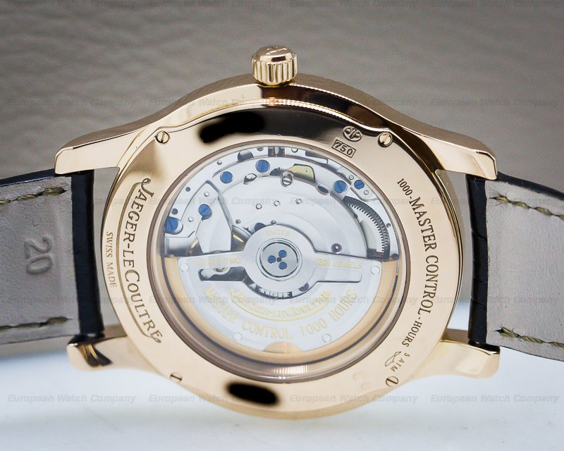 Jaeger LeCoultre 139.24.20 Master Control Automatic 18K RG