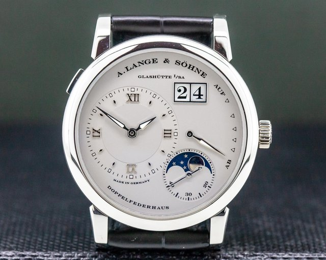 A. Lange and Sohne 109.025 Lange 1 Moon Platinum