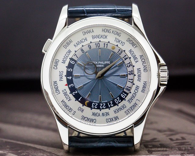 Patek Philippe 5130P-001 5130P World Time Platinum