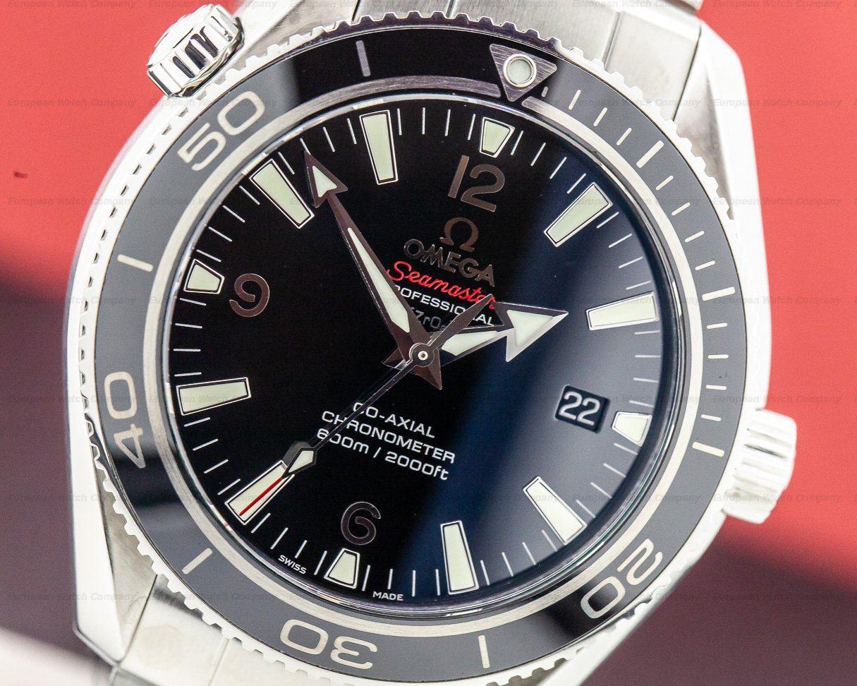 Omega 222.30.42.20.01.001 Seamaster Planet Ocean Co-Axial Liquid Metal Limited Series