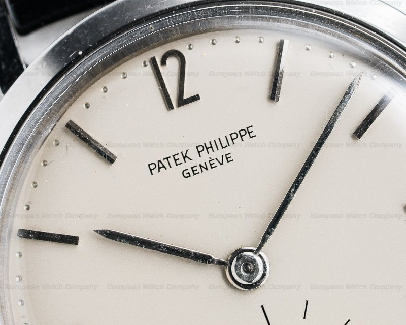 Patek Philippe 3418 3418 Calatrava Waterproof Case Stainless Steel Circa 1957