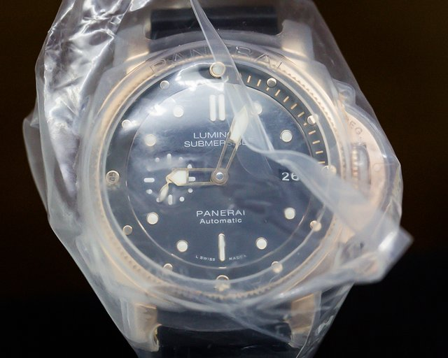 Panerai PAM00684 Luminor Submersible Rose Gold SERVICE SEALED