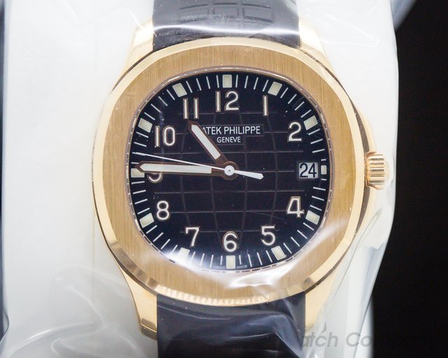 Patek Philippe 5167R-001 Aquanaut 18K Rose Gold / Brown Dial SEALED
