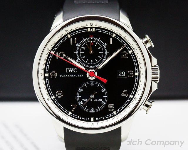IWC IW390204 IWC Portuguese Yacht Club Flyback SS Black Dial