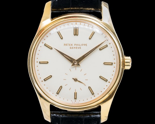 Patek Philippe 2526 Enamel Dial 2526 Automatic Radium Indexes RARE