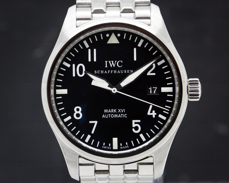 IWC IW325504 Mark XVI Black Dial SS / SS