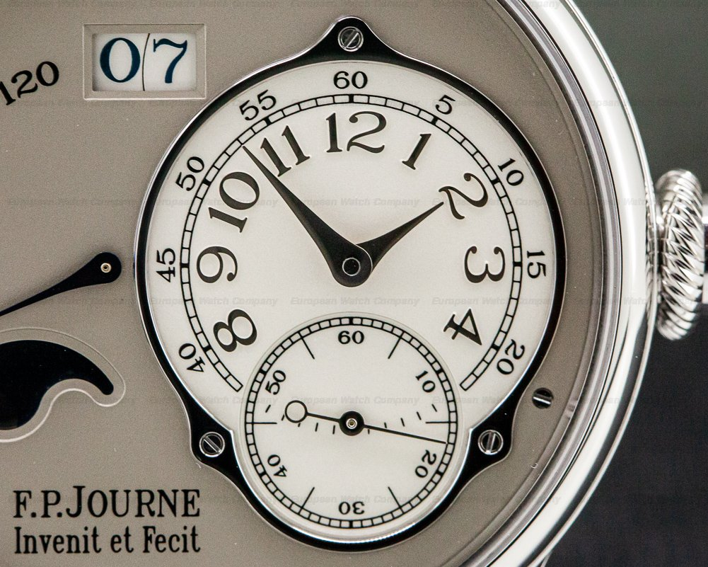 F. P. Journe Octa Lune Automatic Octa Lune Automatic Platinum / Grey Dial 40MM