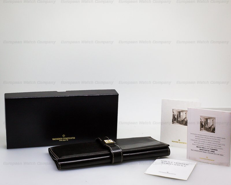 Vacheron Constantin 47245/000R Patrimony 31 Day Retrograde 18K Rose Gold