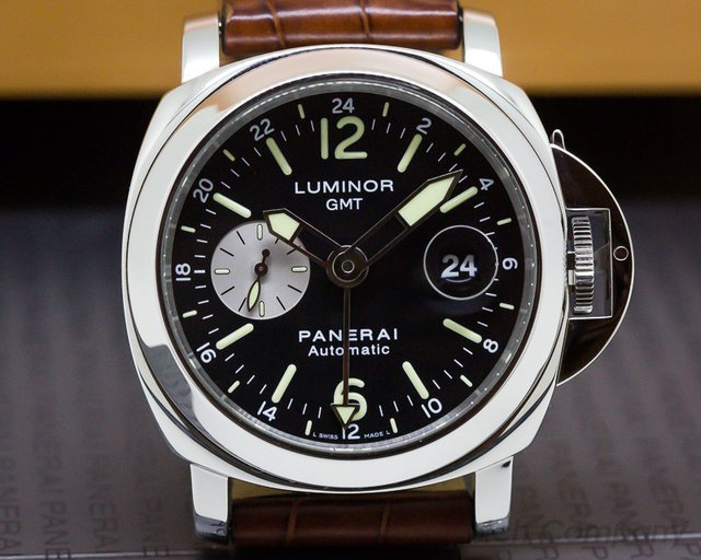 Panerai PAM00088 Luminor GMT SS
