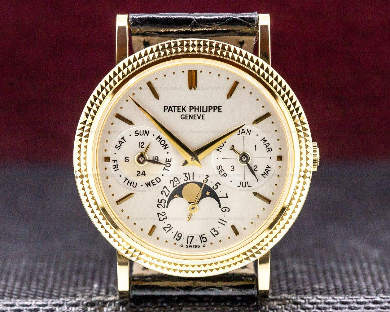 Patek Philippe 5039J-001 Perpetual Calendar 18K Yellow Gold UNWORN
