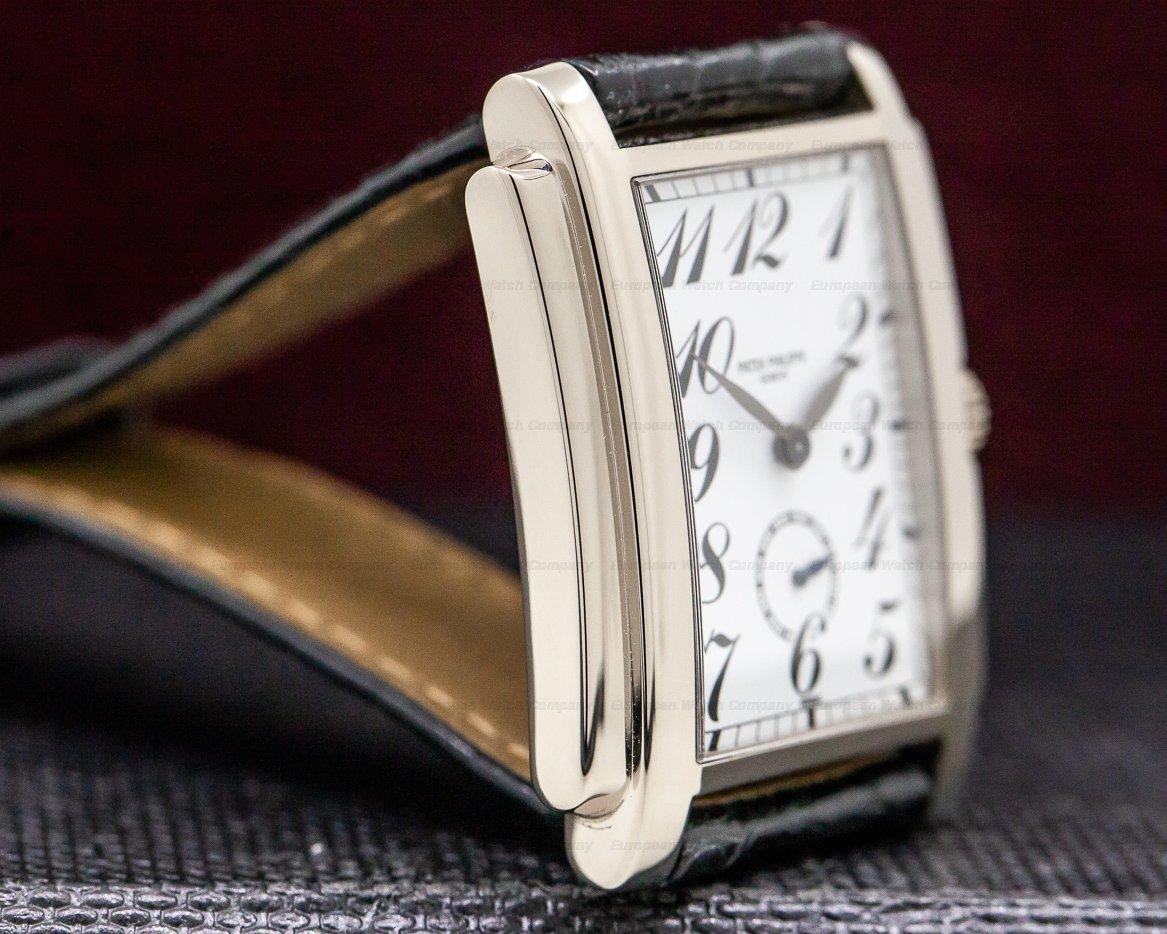 Patek Philippe 5024G-010 Gondolo White Dial Arabic Numerals 18K White Gold