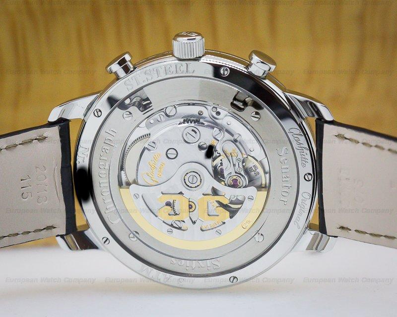 Glashutte Original 39-34-02-22-04 Senator Sixties Chronograph Black Dial 42MM