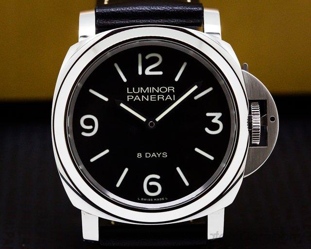 Panerai PAM560 Luminor Base 8 Days Black Painted Dial
