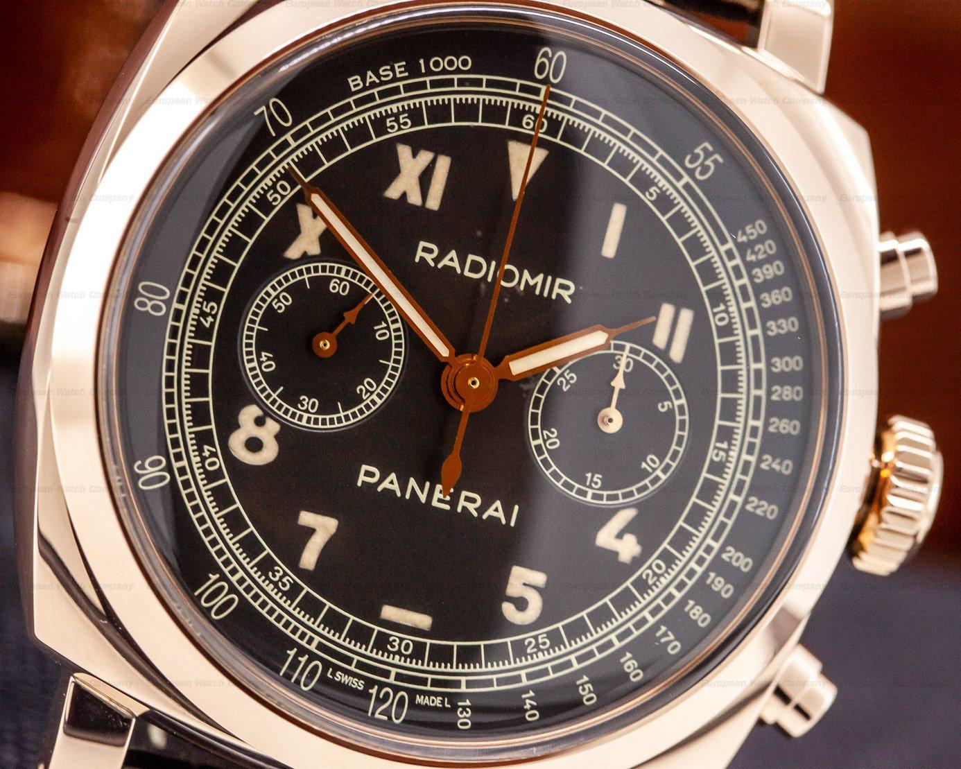 Panerai PAM00519 Radiomir 1940 Chronograph 18k Rose Gold LIMITED