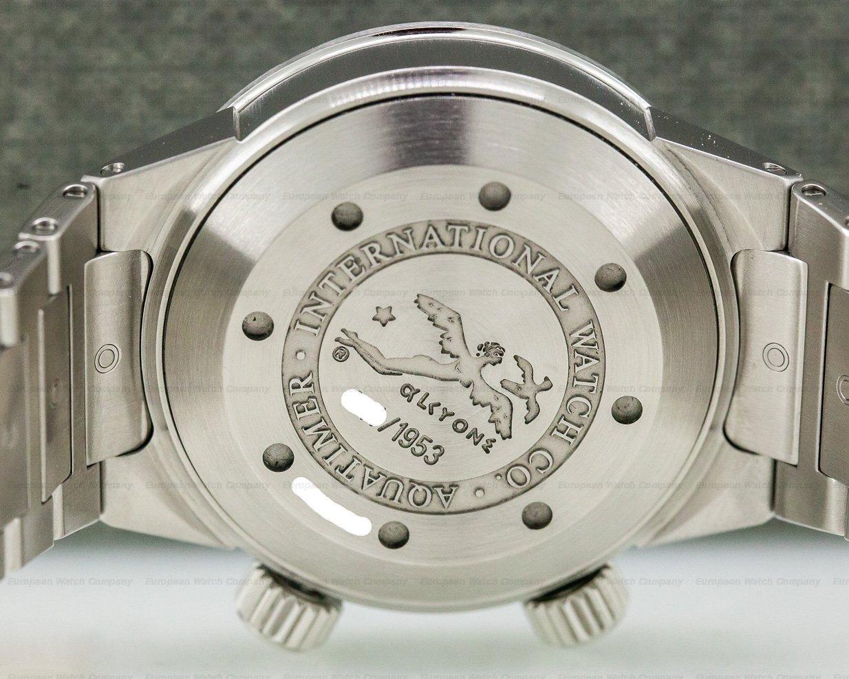IWC IW354806 Aquatimer Automatic COUSTEAU DIVERS SS FULL SET