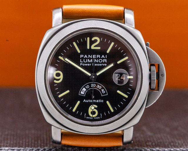 "Panerai PAM00028 Luminor Power Reserve PVD ""Arrow Hand"""