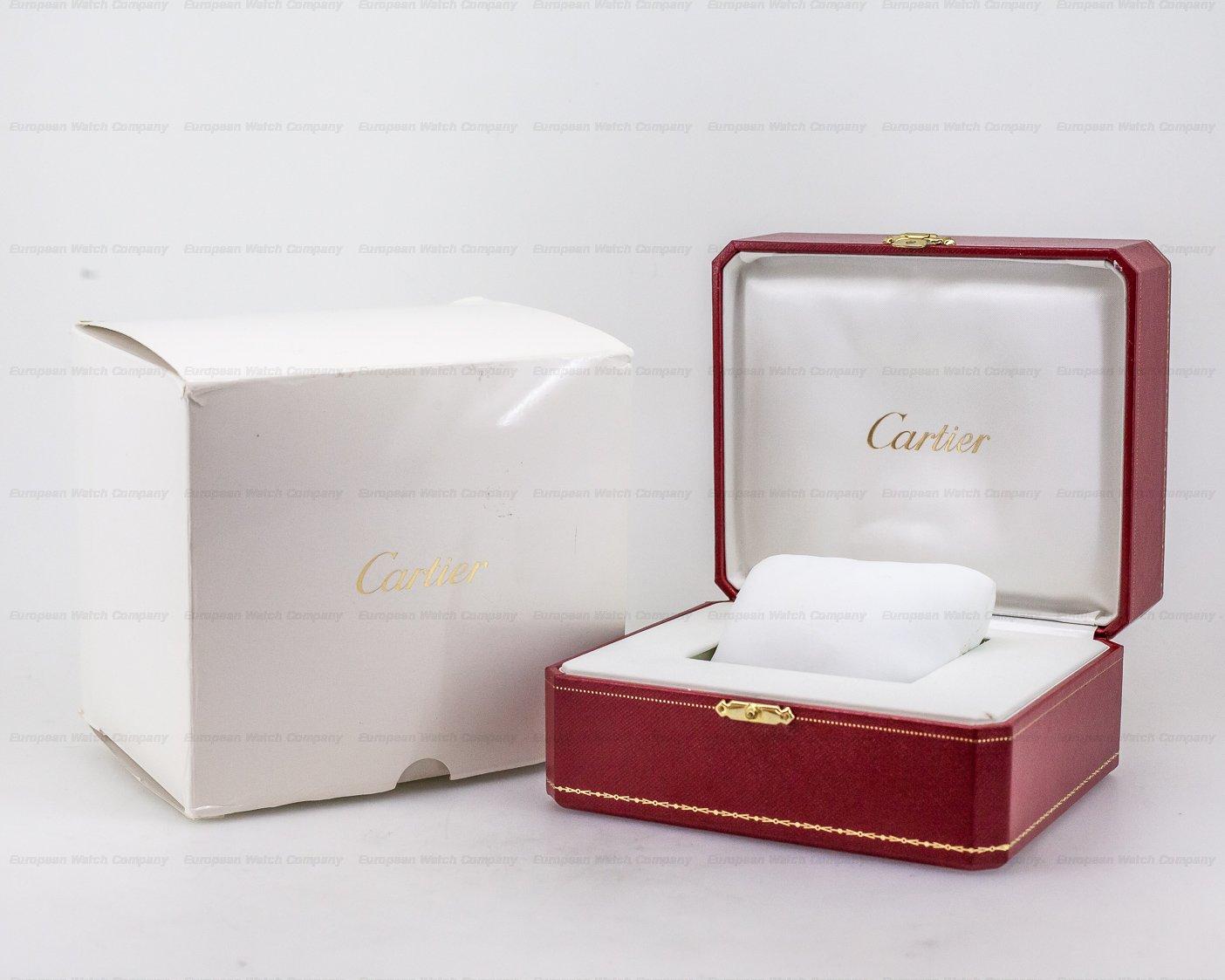 Cartier W6920010 Ballon Bleu Chronograph Rose Gold