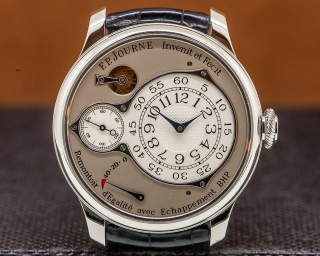 F. P. Journe Optimuim Platinum 42 Chronometre Optimum Platinum / Silver Dial 42MM