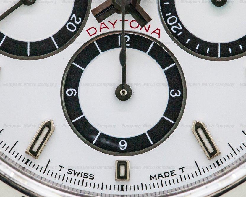 Rolex 16520 Daytona SS White Dial Zenith Movement INVERTED 6 FULL SET