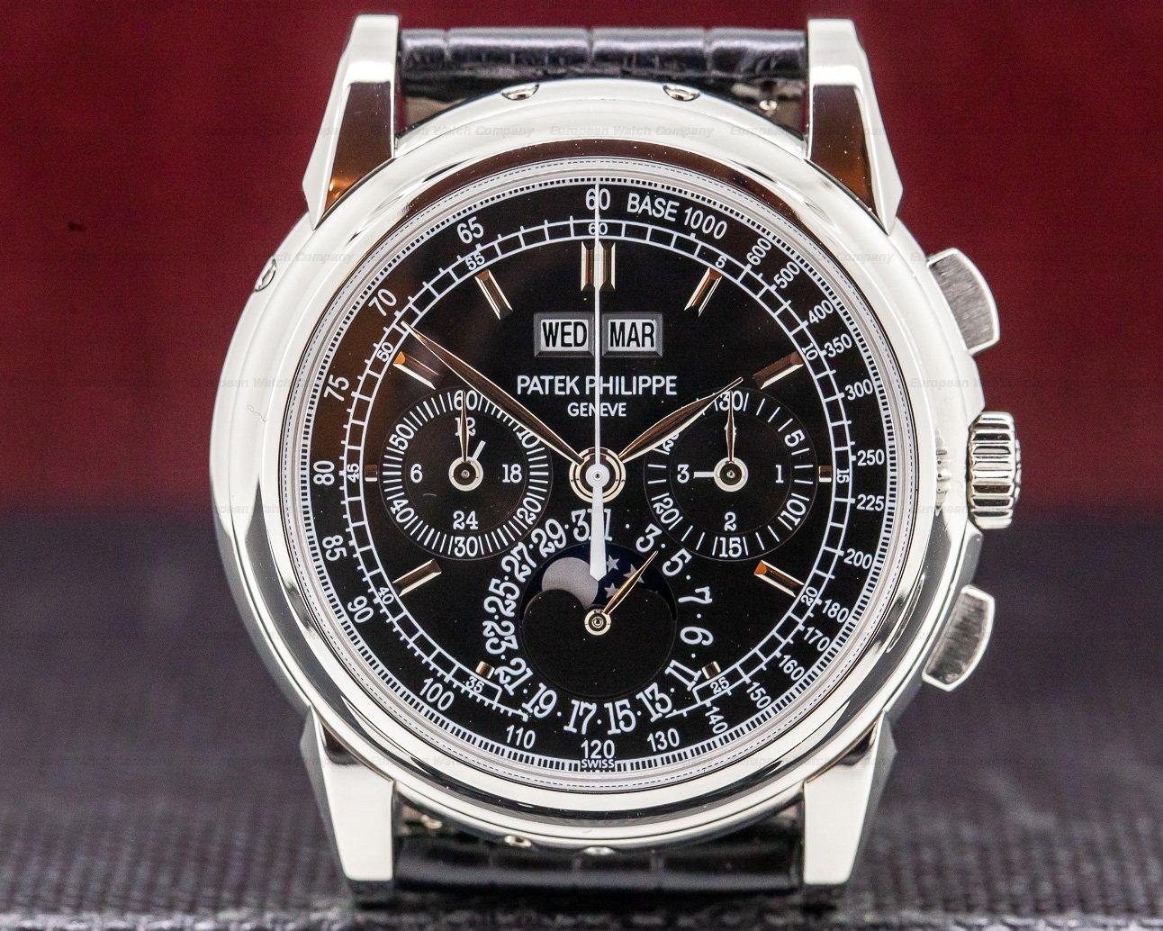 (31329) Patek Philippe 5970P-001 Perpetual Calendar Chronograph Platinum FU