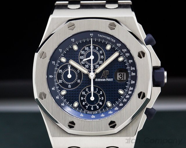 Audemars Piguet 26237ST.OO.1000ST.01 Royal Oak Offshore Blue Dial Re-Edition 2018