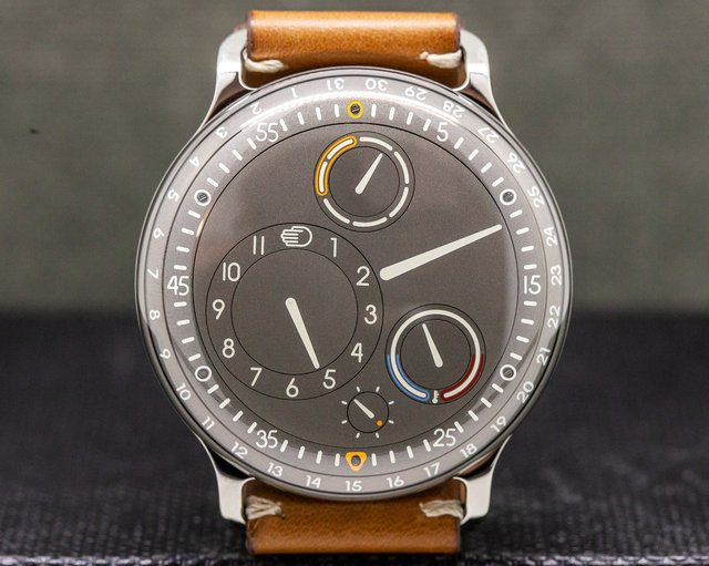 Ressence Type 1  Type 3 Gray Dial