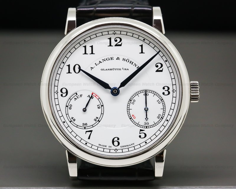 A. Lange and Sohne 234.049 1815 Up & Down CELLINI 40th Anniversary 18K White Gold