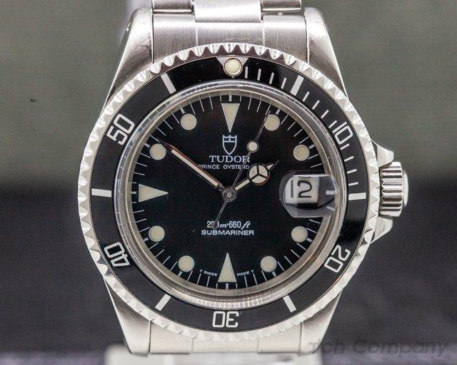 Tudor 79090 Submariner Black Dial SS / Bracelet FULL SET