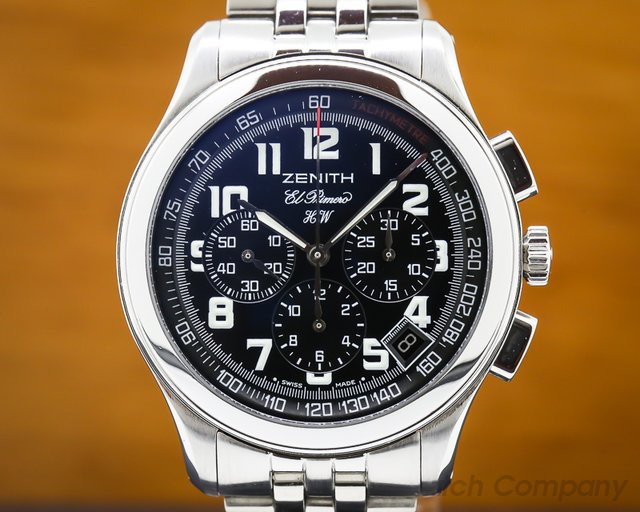 Zenith 02.0500.420/24.M501 El Primero HW Chronograph SS  / Bracelet