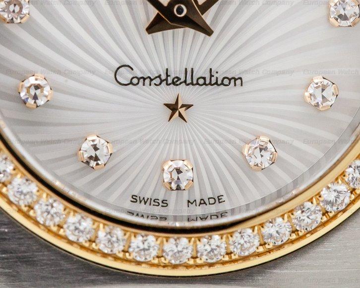 Omega 111.25.26.60.55.001 Ladies Constellation 95 Quartz MOP Dial DIAMONDS 18K / SS