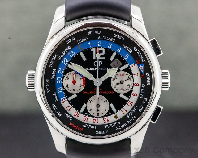 Girard Perregaux 49800-11-657-FK6A World Time WW.TC Chrono SS USA 76