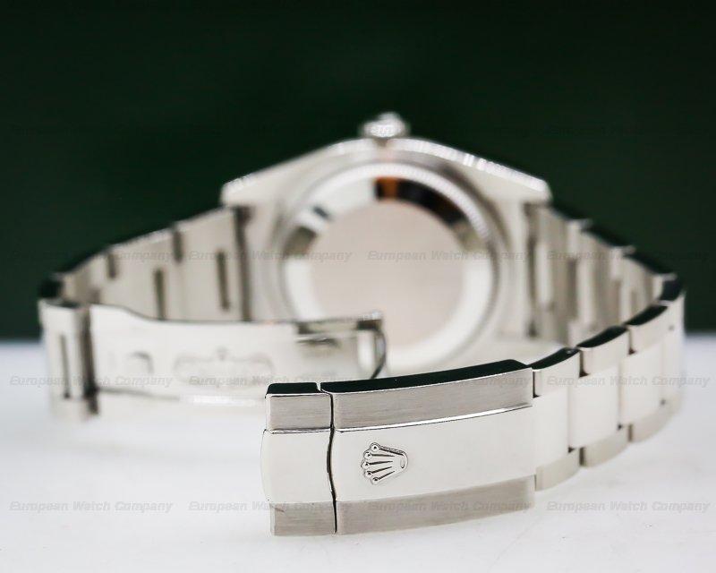 Rolex 116200 Datejust Black Stick Dial SS / SS
