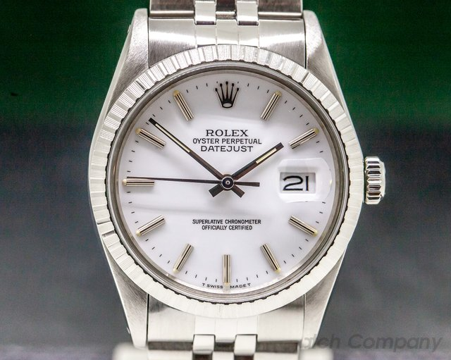 Rolex 16030 Datejust Silver Dial / Jubilee SS