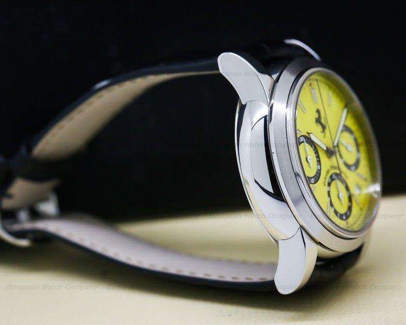 Girard Perregaux 8020 Ferrari Chronograph Yellow Dial SS / Strap