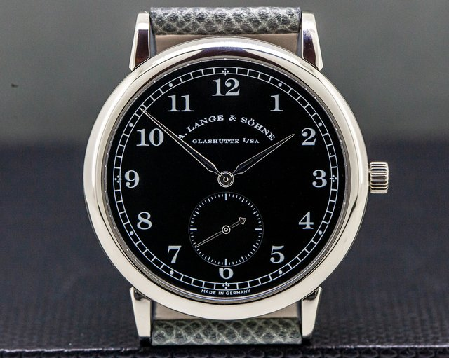 A. Lange and Sohne 206.029 1815 Black Dial 18K White Gold