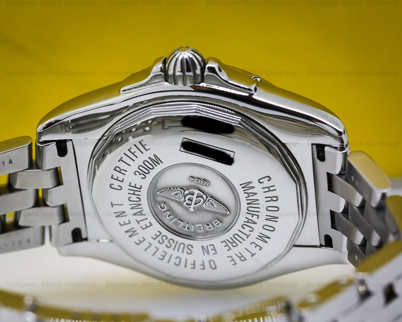 Breitling A4935011-C671 Cockpit Blue Dial on Steel Bracelet