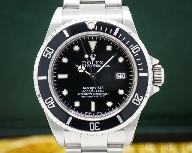 Rolex 16600 Sea Dweller SS Complete Set WOW