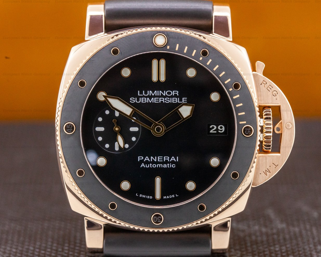 Panerai PAM00684 Luminor Submersible Rose Gold 42MM